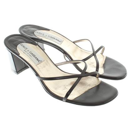 Dolce & Gabbana pumps in zwart