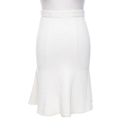 St. John skirt in cream