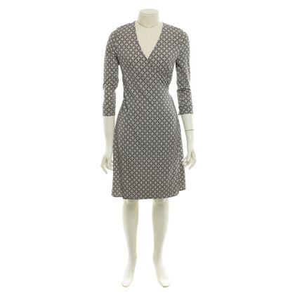Diane von Furstenberg Silk dress in black and white
