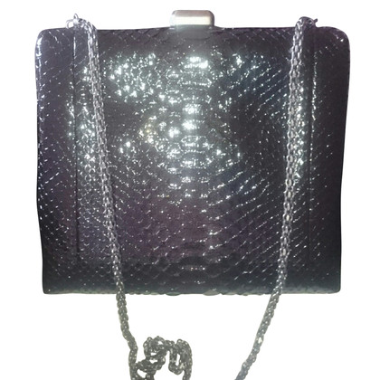"Chanel ""Kiss-Lock Bag"" Pitone"