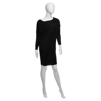 Patrizia Pepe Knit dress in black