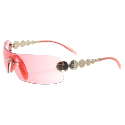 Christian Dior Sonnenbrille in Rot