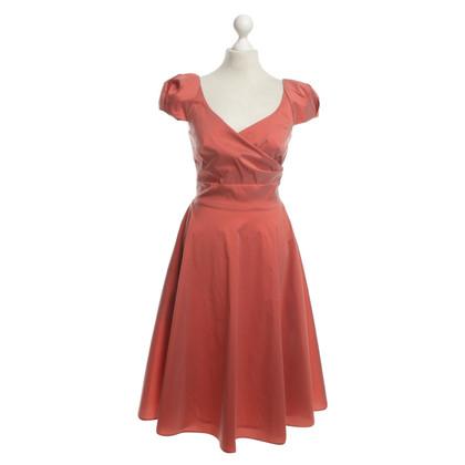 Talbot Runhof Evening dress in coral red