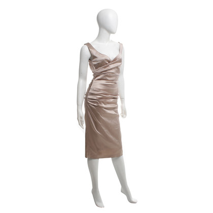 Talbot Runhof Cocktail dress in beige