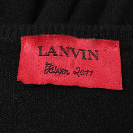 Lanvin Lanvin in Kleid Kleid Schwarz in Schwarz Schwarz Schwarz Lanvin gO1wn5q