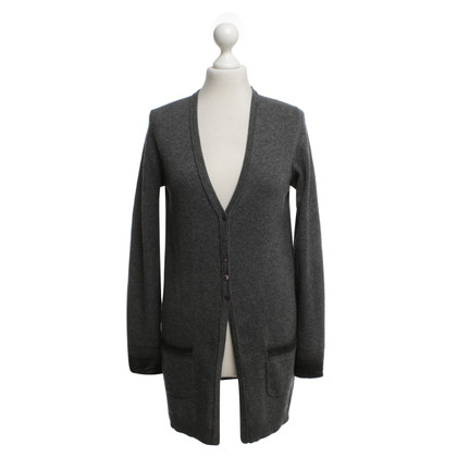 Luisa Cerano Strickjacke in Grau