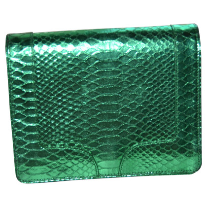 Dries van Noten clutch Python Leather
