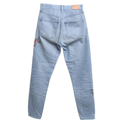 Citizens of Humanity Jeans mit floraler Stickerei