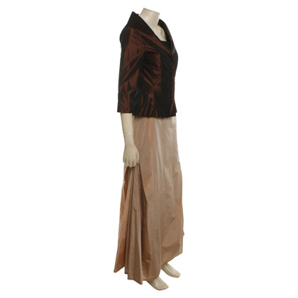 Barbara Schwarzer Abito da sera in Brown / Beige