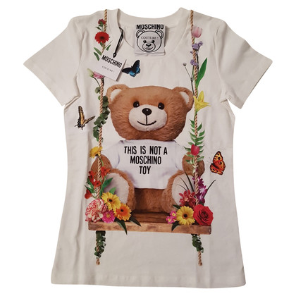 Moschino Weißes T-Shirt