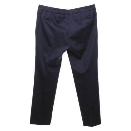 Prada trousers in dark blue