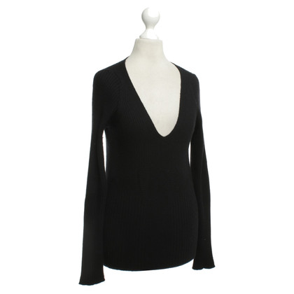 Malo Cashmere sweater in black