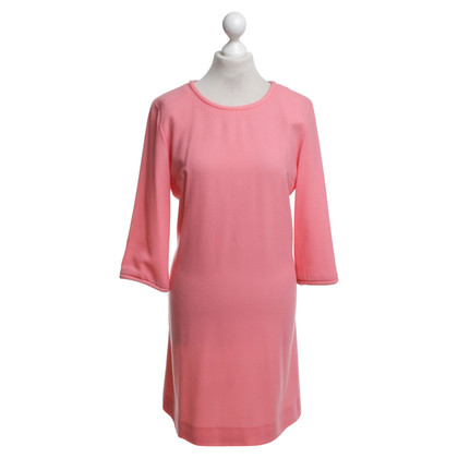Goat Dress in coral red
