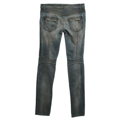 Balmain Jeans im Biker-Stil