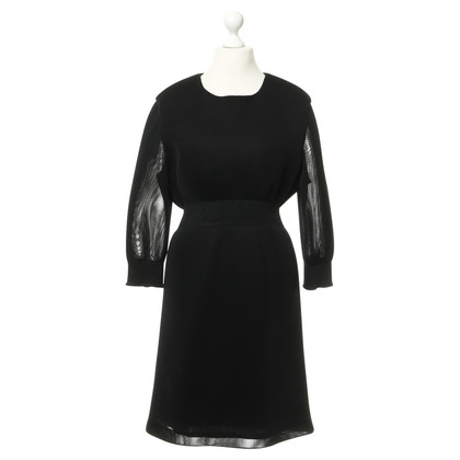 Theyskens' Theory Kleid in Mesh-Optik