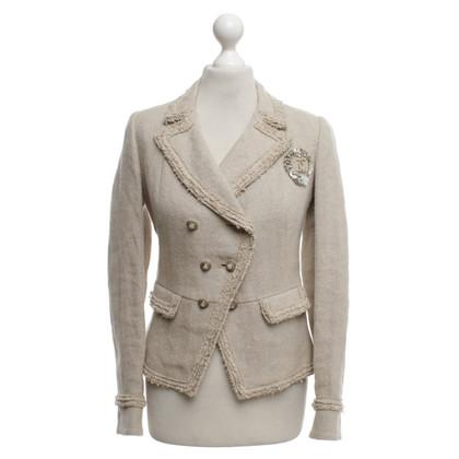 Chanel Linen blazer in beige
