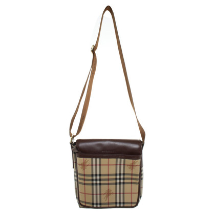 Burberry Schoudertas met Burberry check