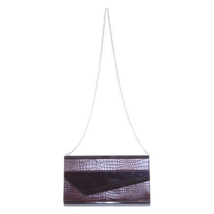 Jimmy Choo Handtasche in Bordeaux