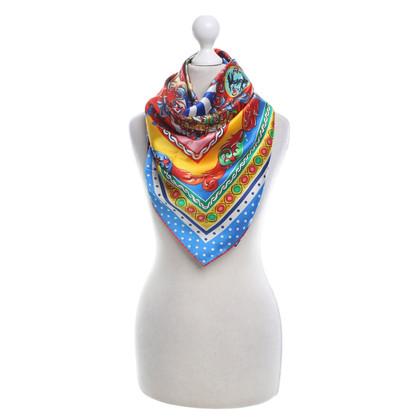 """Dolce & Gabbana Silk scarf """"Carretto"""""""