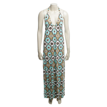 Milly Maxi robe avec motif floral