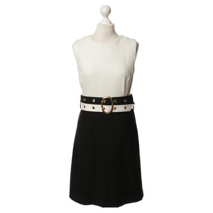 Milly zwart/wit jurk