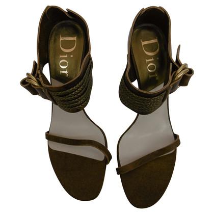 Christian Dior Sandali in marrone