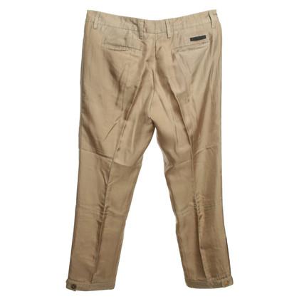 Prada pantaloni estivi in ocra