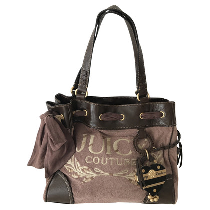 Juicy Couture Shoulder bag with logo embroidery