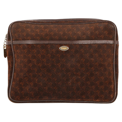 Salvatore Ferragamo clutch in brown