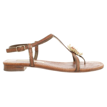 Schumacher Sandals in brown