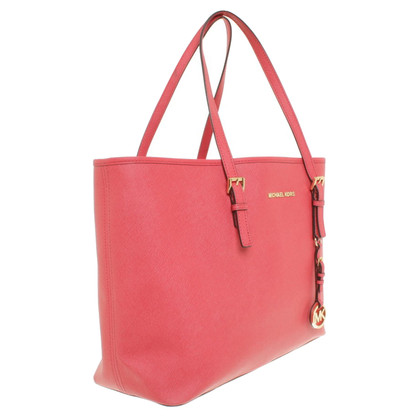"Michael Kors ""Jet Set Shopper"" in Korallrot"
