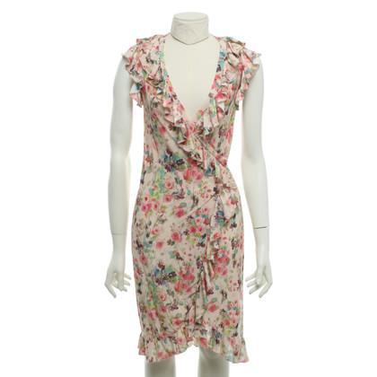 Blumarine Avvolgere il vestito con un motivo floreale