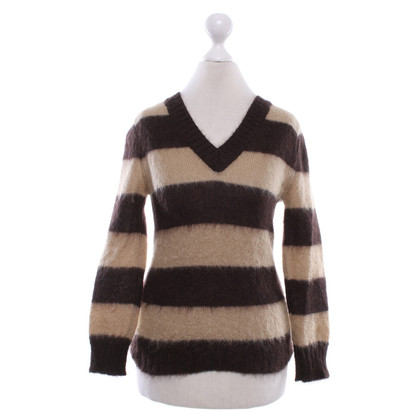 Céline Sweater with block stripes