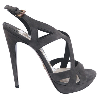 Prada pumps with straps