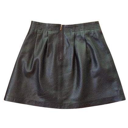Comptoir des Cotonniers Leather skirt