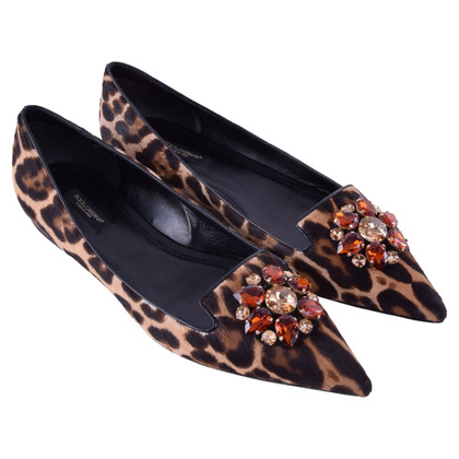 Dolce & Gabbana  Ballerinas with fur