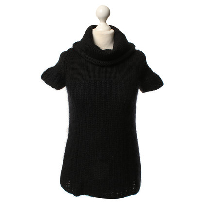 Prada Maglia camicia in nero