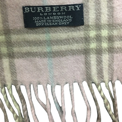 Burberry Sciarpa in Pink