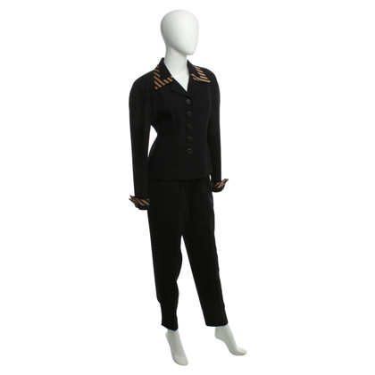 Christian Dior Pant suit made of wool