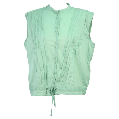 French Connection Blouse in mint green