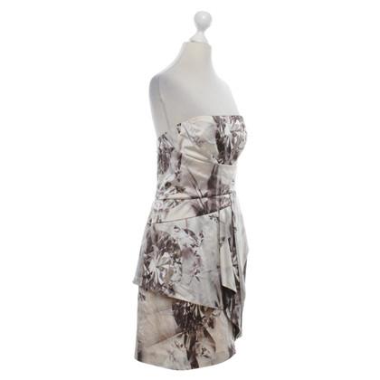 Karen Millen Seidenkleid mit Muster