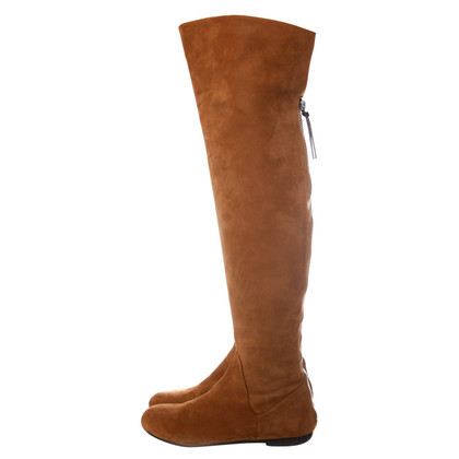 Giuseppe Zanotti Suede overknee boots