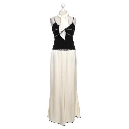 Chanel Maxi jurk met sjaal