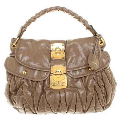 Miu Miu Handbag in taupe