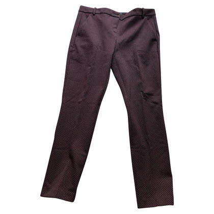 Pinko Pantaloni in bordeaux / nero
