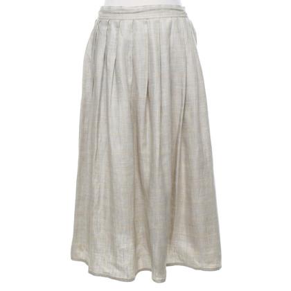 Max Mara Pleated skirt made of linen