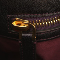 Tom Ford Leather handbag in dark purple