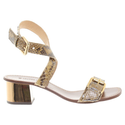 L'autre Chose Sandaletten im Animal-Stil