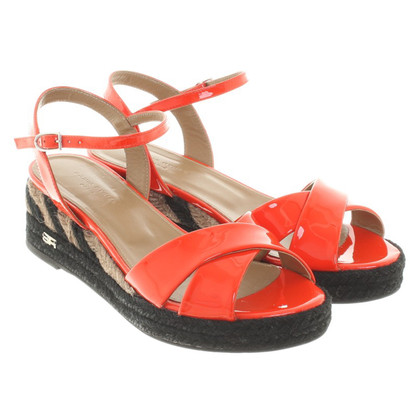 Sonia Rykiel Patent leather wedges