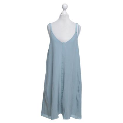 Dorothee Schumacher zijden jurk in blauw